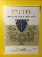 3182 - Suisse Vaud Féchy Dorin Récolte De La Commune - Etiquettes