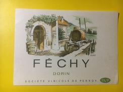 3185 - Suisse Vaud Féchy Dorin - Etiquettes