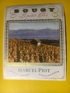 3188 - Suisse Vaud Bougy Le Petit Clos Marcel Piot - Etiquettes