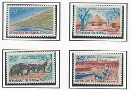 SÉNÉGAL Scott 322-325 Yvert 326-329 (4) * 1969 Cote 7$ - Senegal (1960-...)