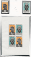 SÉNÉGAL Scott C70-C71, C71a Yvert PA75-PA76, BF5 (2+bloc) * Et ** 1969 Cote 7$ - Sénégal (1960-...)