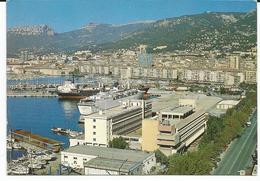 TOULON LE PORT AU SOLEIL DE LA COTE D AZUR  ECRT 1989 - Toulon
