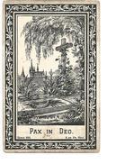 N 131.  JOSEPH S. J. VANDECRUYS  Echtg. Maria LOFVELDT -  °HASSELT 1869  /  +MAASTRICHT 1913 - Imágenes Religiosas