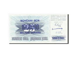 Bosnia - Herzegovina, 1,000,000 Dinara, 1993, KM:35b, 1993-11-10, NEUF - Bosnia And Herzegovina