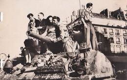 Carte 1944 L'accueil Des Parisiens Aux Soldats De Leclerc (char) - Oorlog 1939-45