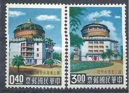 1959 FORMOSE- TAIWAN 309-10 ** Sciences - 1945-... République De Chine
