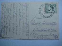 1936 , Olympiade , Sonderkarte Mit SSt. - Deutschland