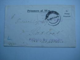 1917 , Kriegsgefangenenbrief Aus Pietermaritzburg Mit Zensuren - Colony: German South West Africa