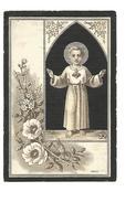 N 136.  JACOBUS CONRARDUS  WINTRAECKEN  Wed. E. LEMMENS -  BUNDE 1822 / 1901 - Imágenes Religiosas