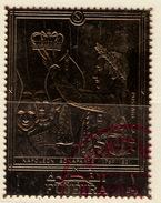 TIMBRE OR GOLD FUJEIRA NAPOLEON - Napoleon