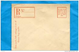 MARCOPHILIE -CHILI-Enveloppe  Neuve*** REC-entier Postal-  20 C République Années 1890-00- - Chile