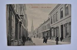 PK/CP Iseghem Izegem Rue Du Marche Animé Editor Van Moortel 1911 - Izegem