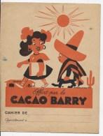 Protege Cahier Offert Par Le CACAO BARRY - Alimentaire