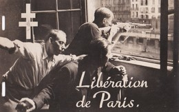 Carte 1944 Le 19 Aout : Les F.F.I S'emparent De La Préfecture Et La Transforment En Place Forte : Libération De Paris - Oorlog 1939-45