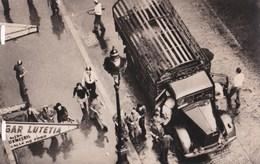 Carte 1944 Arrestation D'un Camion Allemand Dont Les Occupants Sont Faits Prisonniers: Libération De Paris - Oorlog 1939-45