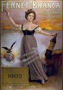 Aperitivo Fernet-Branca Milano 1902 - Postcard - Poster Reproduction (N) - Advertising