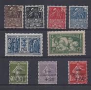 France Année Complète 1931 ( N° 269 à 277 ** )