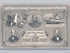 Schleswig-Holstein 1908 Die Erhebung Schleswig-Holstein Gegen Dänemark! 24 März 1848 - Germania