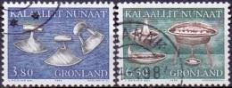 GROENLAND 1986 Volkskunst I GB-USED. - Gebraucht