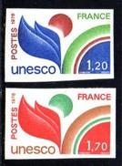 Timbres De Service, UNESCO 56/57 **, Non Dentelés. - Officials