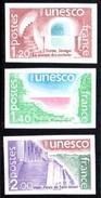 Timbres De Service, UNESCO 60/62 **, Non Dentelés. - Officials