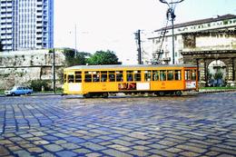 DIAPOSITIVA/SLIDE  TRAM ATM MILANO - Trains