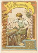 Chromo 1900, Métier, Le Cordonnier ( Chaussures, Cuir ) - Autres