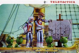 "SERIES  T.V  /    L 10     ""  TELETACTICA    ""  N° 4 / 4      1982  CPM / CPSM  10 X 15 - Séries TV"