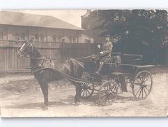 3 Deutsche Foto-AK Mit Pferdekutsche 3 Cpa Avec Chevaux 3 GERMAN RPPC With HORSE CARRIAGES WWI C. 1915 - Pferde