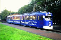 DIAPOSITIVA/SLIDE  TRAM A FRANCOFORTE 1991 Pubblicitario - Trains