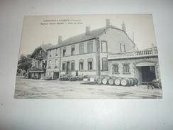 Ancienne Carte Postale Cpa Armagne Lucquy Maisons De Vins En Gros Albert Goury Tonneaux Vue Entreprise Ardennes 08 - Non Classificati