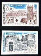 Timbres De Service, 2 Valeurs, UNESCO 75/76 **, Non Dentelés. - Officials