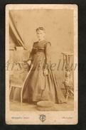 Photo-carte De Visite / CDV / Femme / Woman / 2 Scans / Photo Touzery / Orléans - Photos