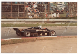 LOTUS 91 JOHN PLAYER SPECIAL - PILOTA ELIO DE ANGELIS - FOTO ORIGINALE DEL 1982 (FORMULA 1) - Automobile - F1