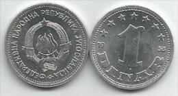 Yugoslavia 1 Dinar 1953. AUNC KM#30 - Yugoslavia
