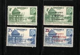 DAHOMEY  NEUF Sans Charnière   N°   149/150 Et 153/154     N** - Unused Stamps