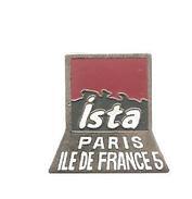 Pin´s Ista Paris ILE DE FRANCE - Informatique