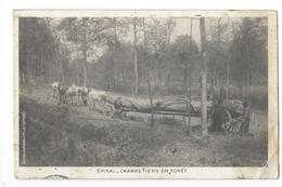 EPINAL  (cpa 88)  Charretiers En Forêt -   - L 1 - Epinal