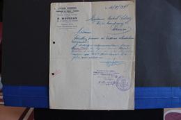 Fac-13 / Verviers - Fabrique De Vélo - Cadres, R. Moureau, Rue Du Collège 128, Verviers  /  1948 . - Sports & Tourisme