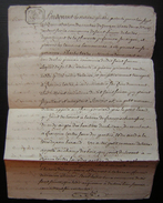 An 7 Saint Simon De Bordes, Charente Inférieure, Acquisition Pour François Tartre De Charles Tartre Son Frère - Manuscritos