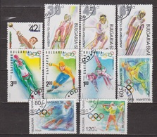 Sports Olympiques - BULGARIE - Lancer Du Marteau, Luge, Ski Alpin, Saut à Ski, Patinage De Vitesse, Lancer Du Poids