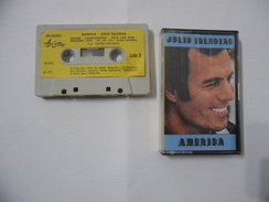 MUSICASSETTA MC ORIGINALE JULIO IGLESIAS AMERICA. - Audio Tapes