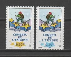 FRANCE / 2003 / Y&T SERVICE N° 126/127 ** : CONSEIL De L´EUROPE (Ungerer - 2 TP) - Gomme D´origine Intacte - Dienstpost