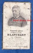 Faire Part De Décés Ancien De 1879 - Maître Cyrille BLANCHART - Curé D' Hautmont , Vicaire Vieux Condé Berlaimont ... - Obituary Notices