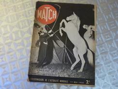 MATCH 1/05/1939. LE CIRQUE EN VOYAGE. AVIATION DE DEMAIN. LE BAGNE GUYANE ILE DU DIABLE. CROISEUR EMDEN. ERSATZ ALLEMAND - Français