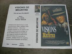 """Rare Film : """" Visions De Meurtre  """" - Action, Adventure"""