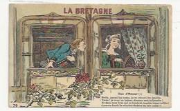 BRETAGNE - ILLUSTRATEUR - HUMOUR - LA BRETAGNE  (79) - DUO D'AMOUR (1) - ..COMME UNE MOUCHE DANS LE LAIT CAILLÉ -ARTAUD - Bretagne