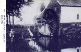 OPHOVEN Bij Kinrooi (Limburg) - Molen/moulin - Blauwe Prentkaart Ons Molenheem Van Molen Verbeek (naar Zeer Oude Foto) - Kinrooi