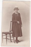 25976 Carte Photo -femme Sans Doute 1915-1920 -mode -sans Doute Belgique