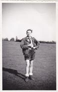 25977 Carte Photo -homme Scout -sans Doute Vers 1943 -sans Doute Belgique - Personnages